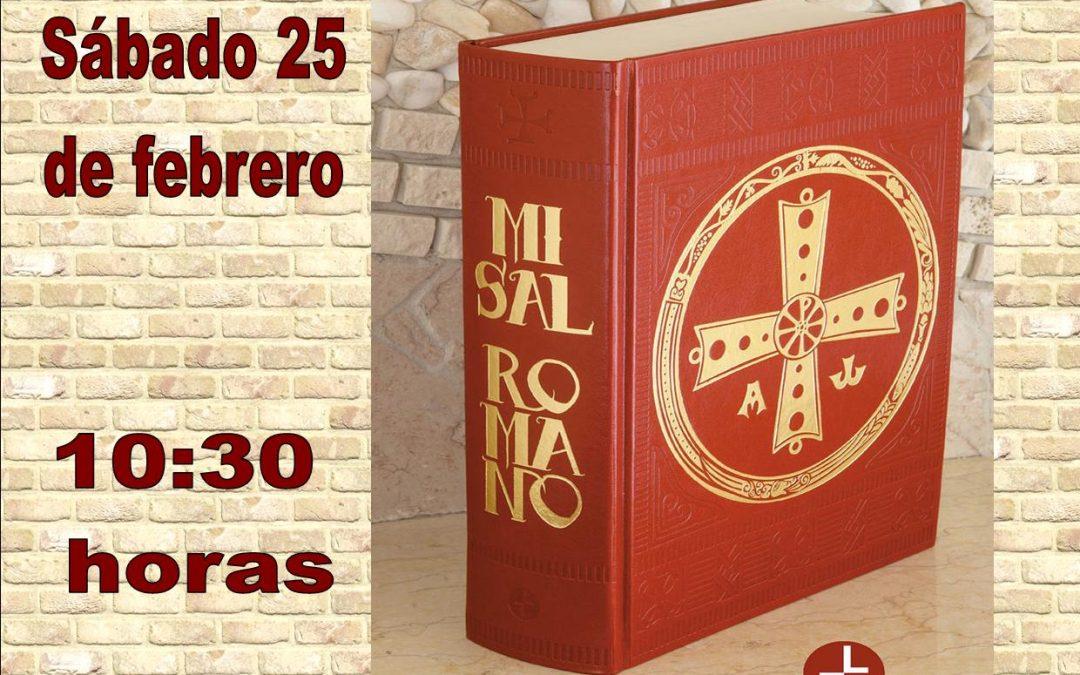 Presentación de la tercera edición del Misal Romano